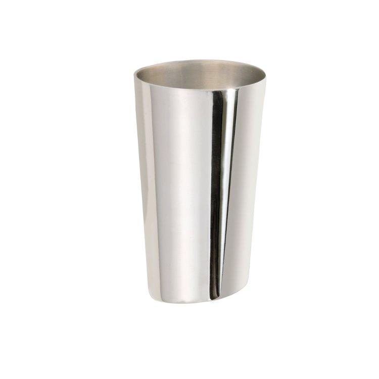 Selterglas silver