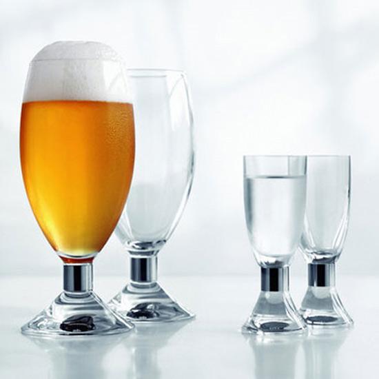 Presentförpackning Öl och Snapsglas 8-pack