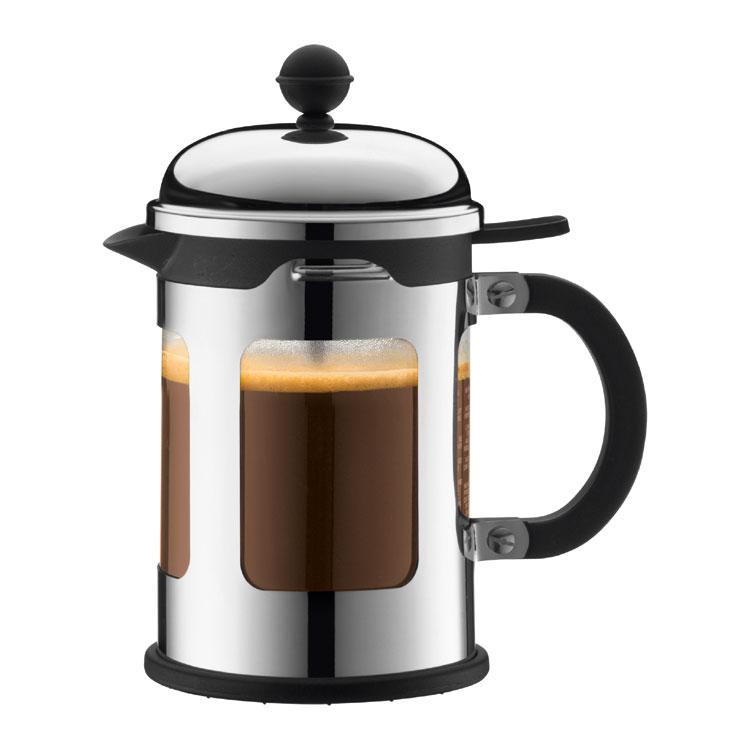 CHAMBORD Kaffepress 4 koppar Krom