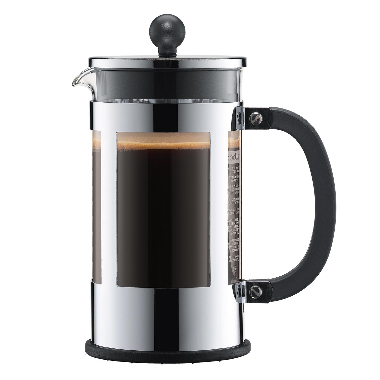 KENYA Kaffebryggare 8 Koppar, Krom, Bodum