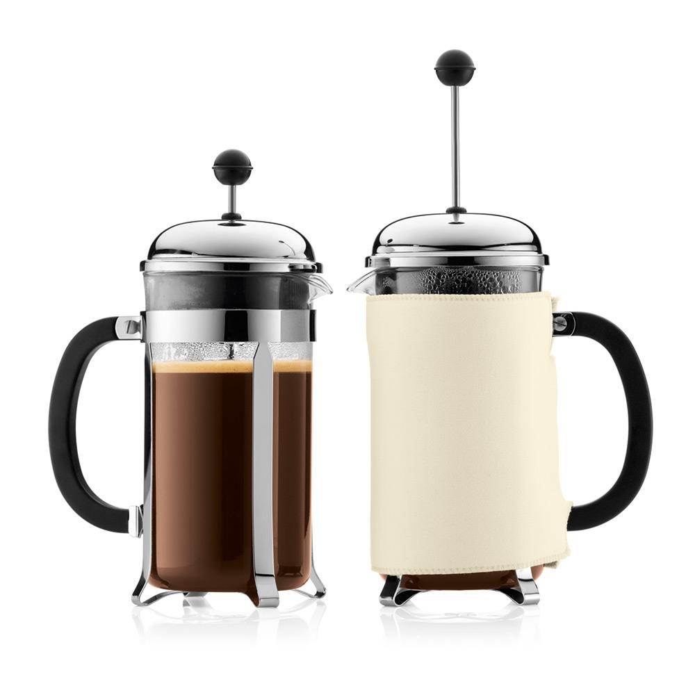 chambord kaffepress 8 koppar krom bodum bodum. Black Bedroom Furniture Sets. Home Design Ideas