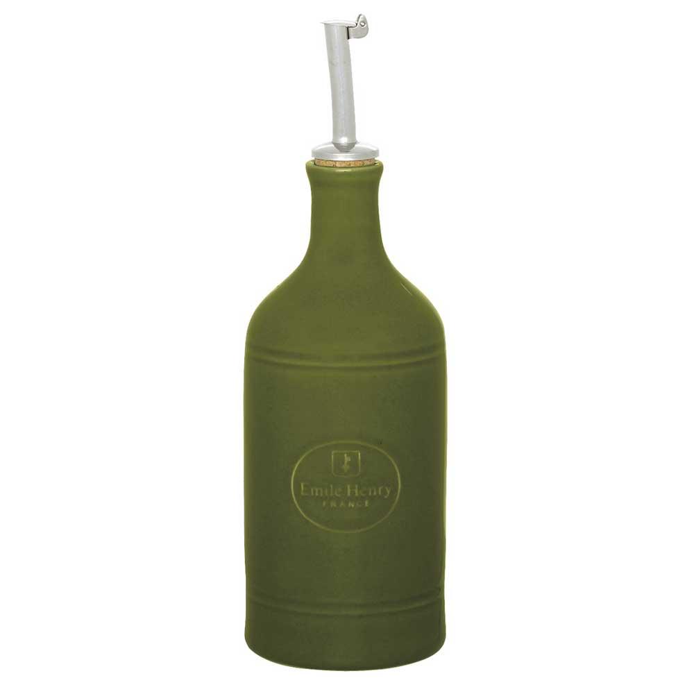 Emile Henry Olja Eller Vinäger Flaska, Oliv