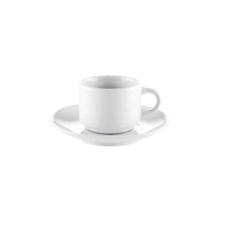 Espressofat till Europe 10 cl Vit