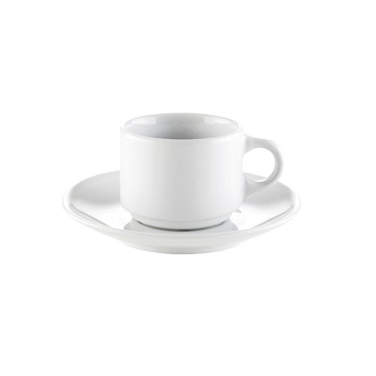 Kaffefat till Europe 18 cl,Vit