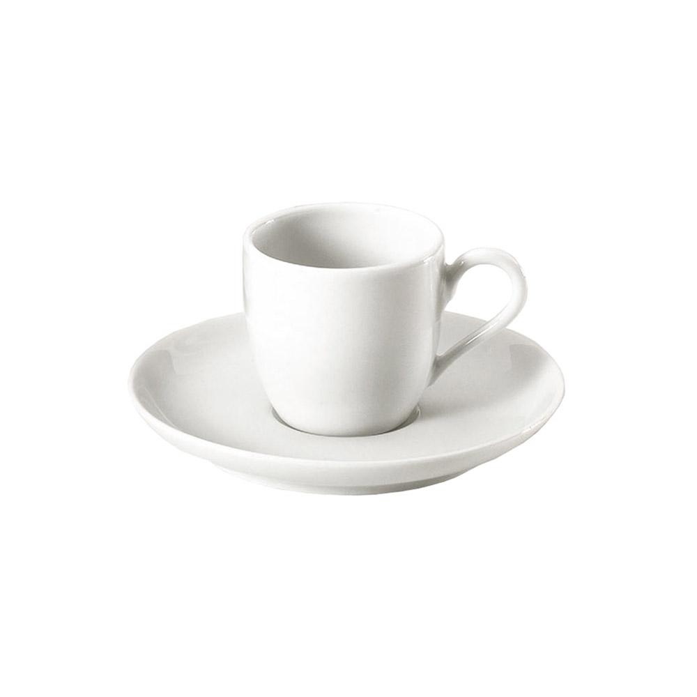 Kaffefat till Cecil 9 cl,Vit