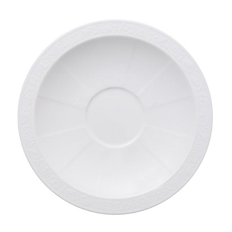 White Pearl Fat Frukostkopp 18cm