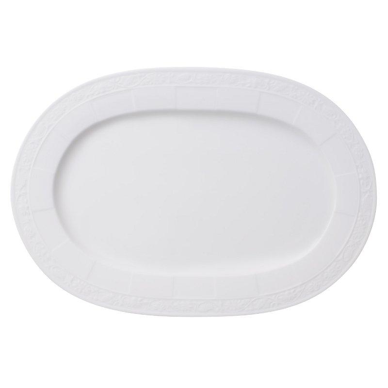 White Pearl Ovalt uppläggningsfat 35 cm