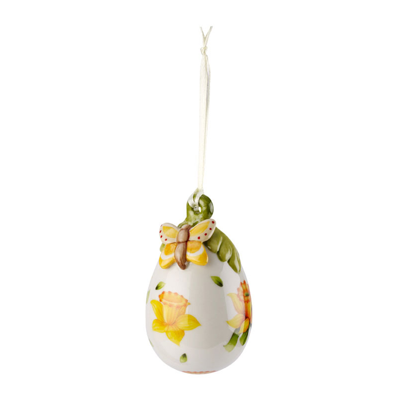 Villeroy & Boch Egg yellow flowers
