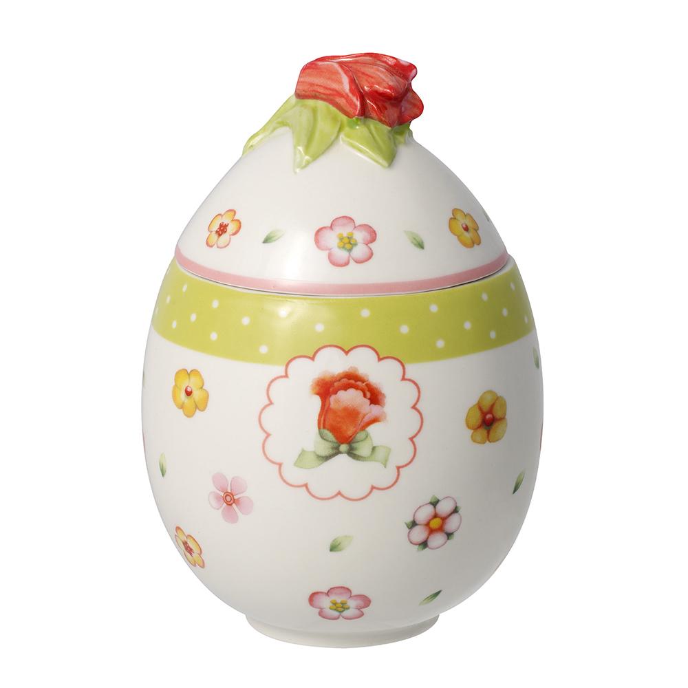 Villeroy & Boch Spring Decorations Äggbox med Tulpan