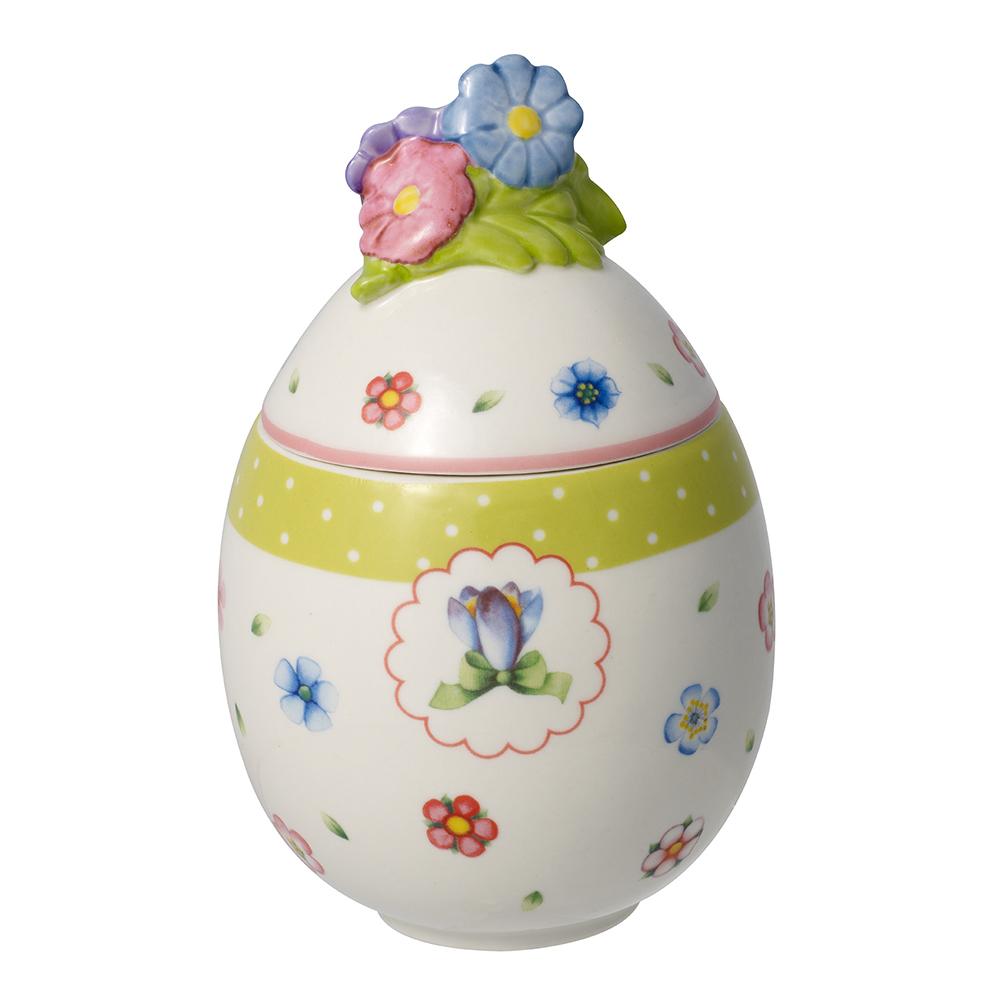 Villeroy & Boch Spring Decorations Äggbox med Gullviva