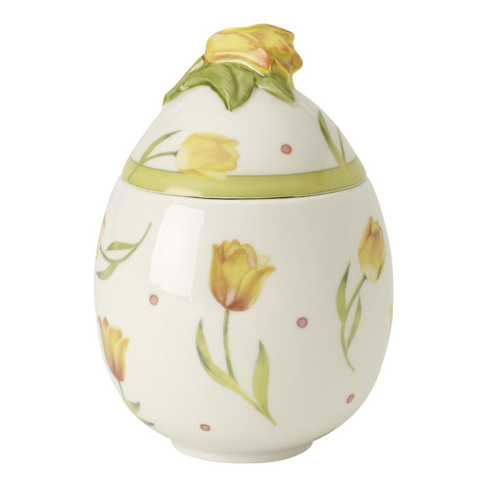Villeroy & Boch Spring Decoration Äggbox med Tulpan