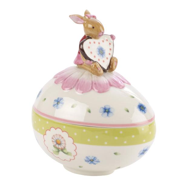 Villeroy & Boch Spring Decorations Äggbox med Kanin