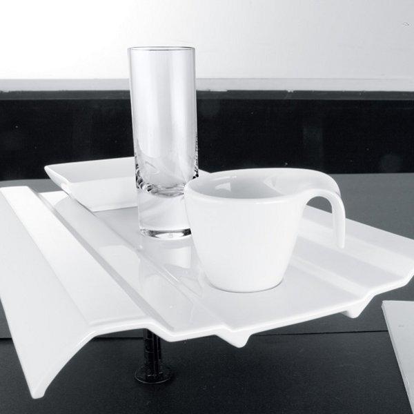 flow tallrik flat 28x27cm villeroy boch villeroy boch. Black Bedroom Furniture Sets. Home Design Ideas