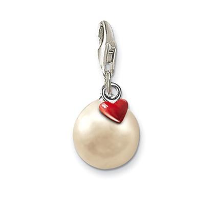 Just Married – Pärla med ett rött hjärta