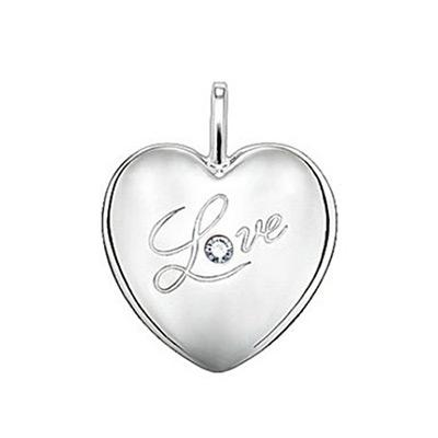 Sweet Diamonds – Hjärta Love med Diamant Stort