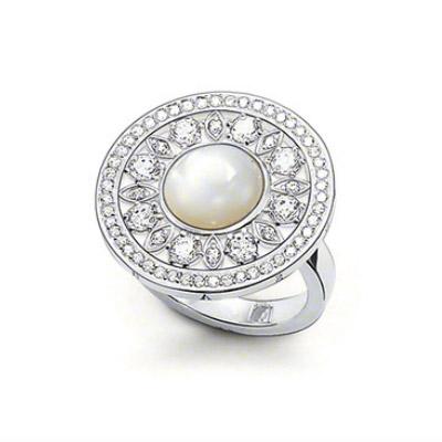 Thomas Sabo Glam & Soul Silver Ring, Pärlemor