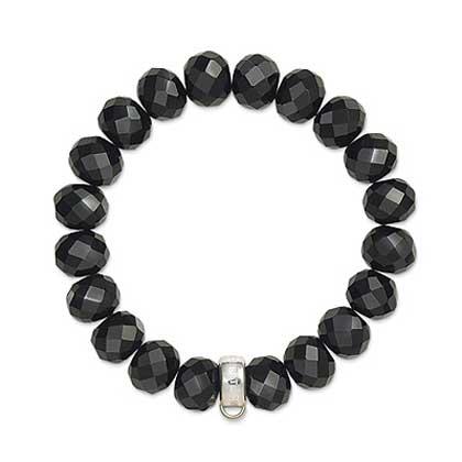 Charm up your life – Armband med svarta stenar