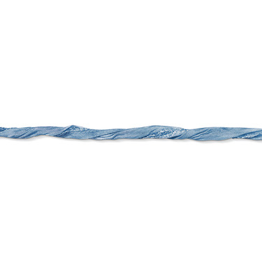 Charm Club Silkesband 100 cm blå