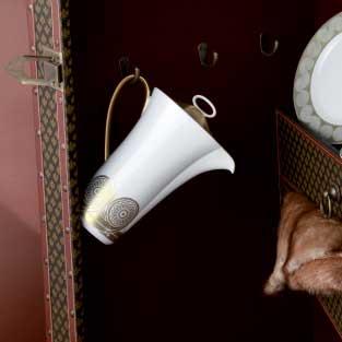 Rosenthal Persis Lock till kaffekanna, Guld