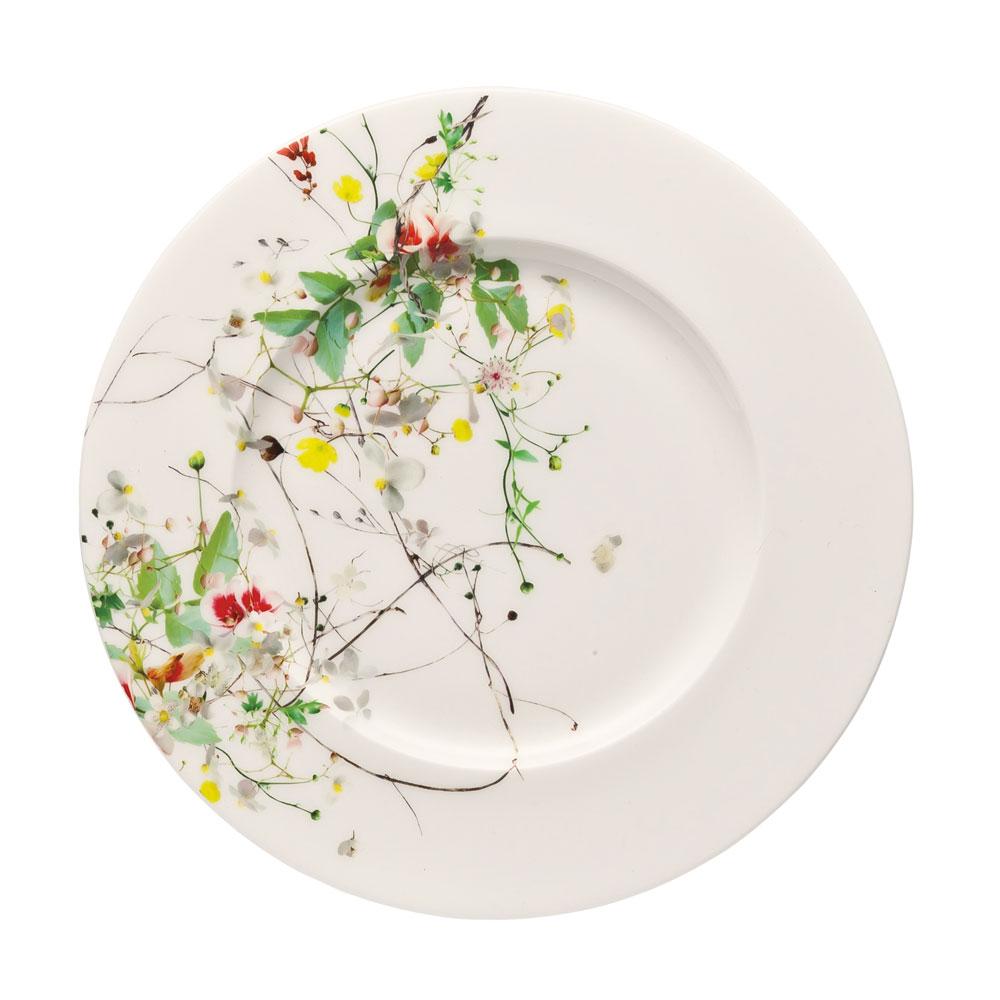 Brillance Fleurs Sauvages Assiette 19 cm