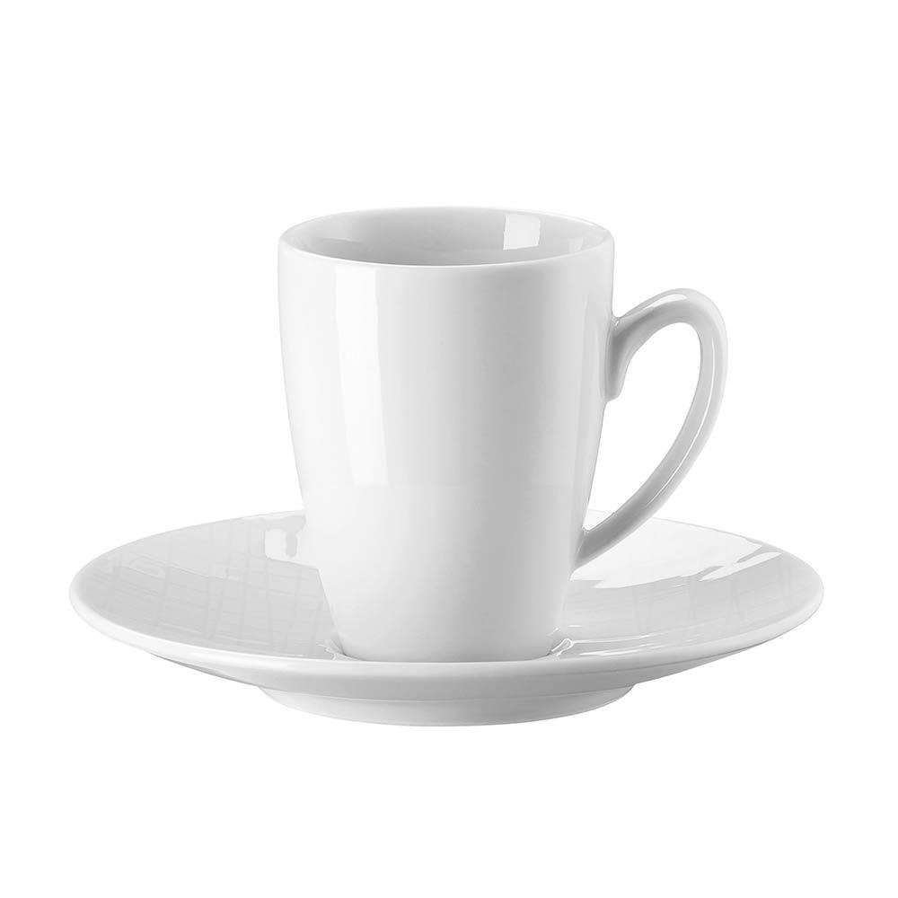 Mesh Relief Espressokopp med Fat 8cl