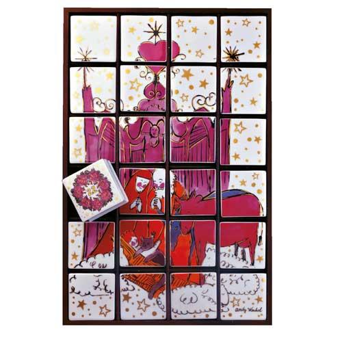 Rosenthal Warhol Christmas Adventskalender 46x65 cm