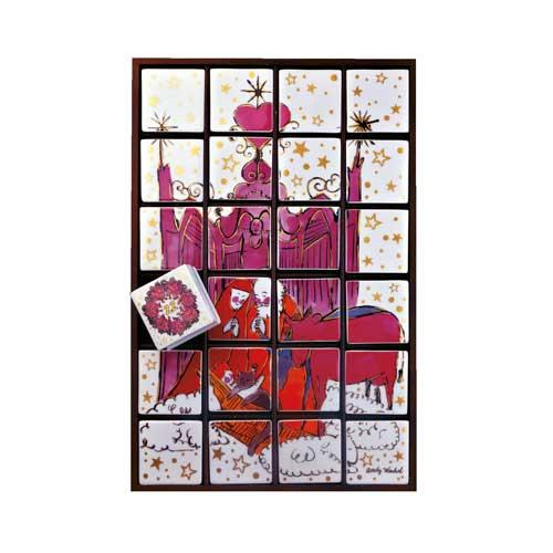 Rosenthal Warhol Christmas Adventskalender 33x47 cm